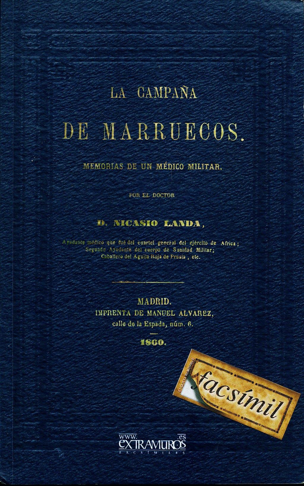 Portada del libro 9788496909229 La Campaña de Marruecos. Memorias de un Médico Militar