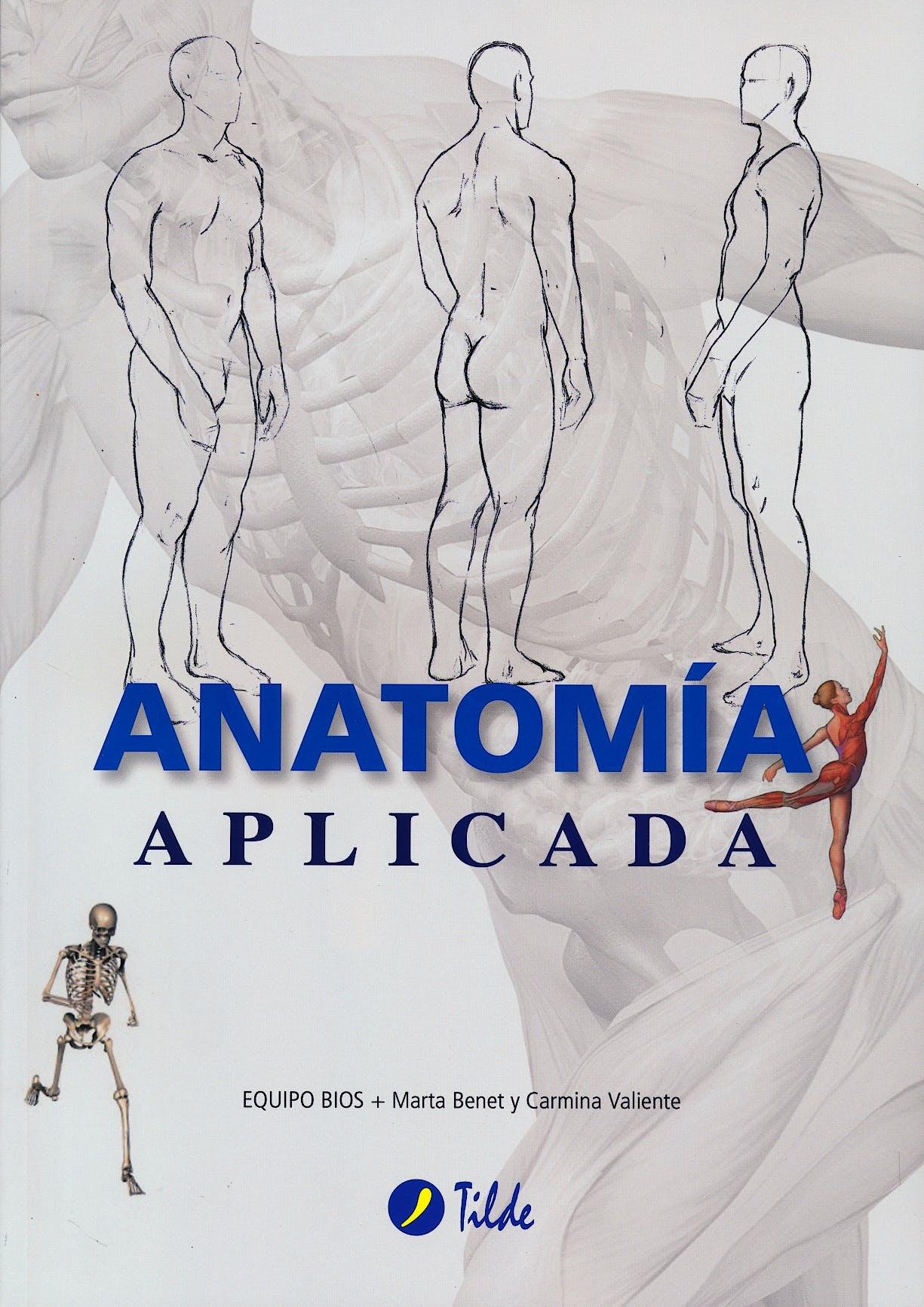 Portada del libro 9788496977303 Anatomía Aplicada