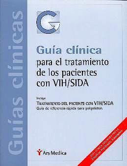 Portada del libro 9788497060196 Guia Clinica para el Tratamiento de los Pacientes con Vih/sida