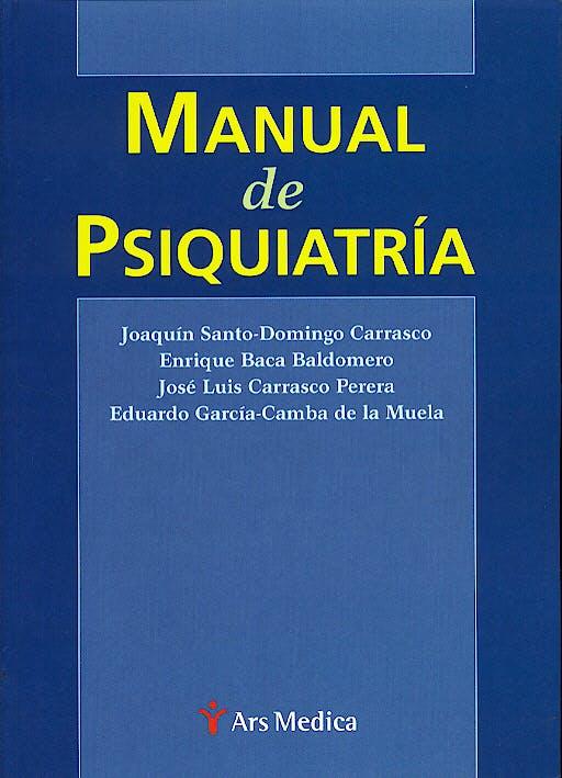 Portada del libro 9788497060318 Manual de Psiquiatría