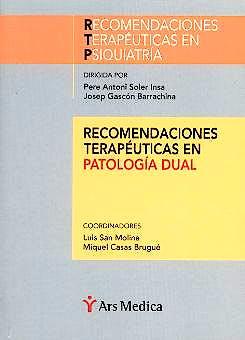 Portada del libro 9788497060325 Recomendaciones Terapeuticas en Patologia Dual