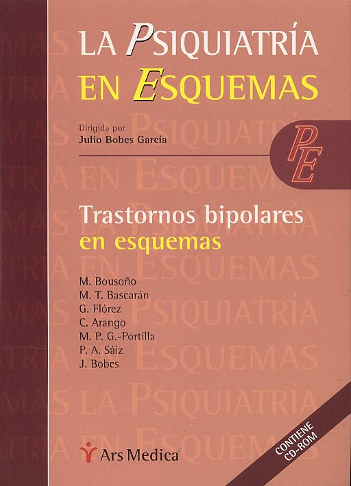 Portada del libro 9788497060868 Trastornos Bipolares en Esquemas + Cd-Rom (La Psiquiatria en Esquemas)