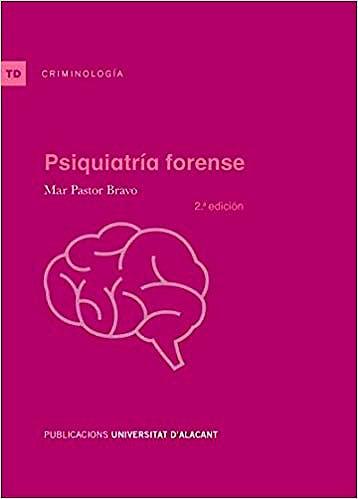 Portada del libro 9788497176750 Psiquiatría Forense