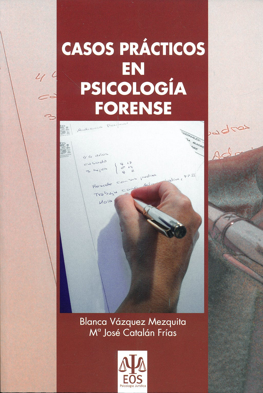 Portada del libro 9788497272865 Casos Practicos en Psicologia Forense