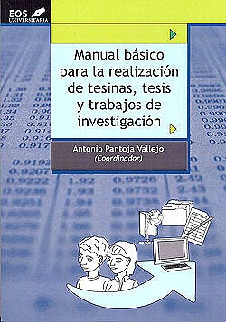 Portada del libro 9788497273428 Manual Basico para la Realizacion de Tesinas, Tesis y Trabajos de Investigacion