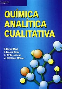 Portada del libro 9788497321402 Química Analítica Cualitativa