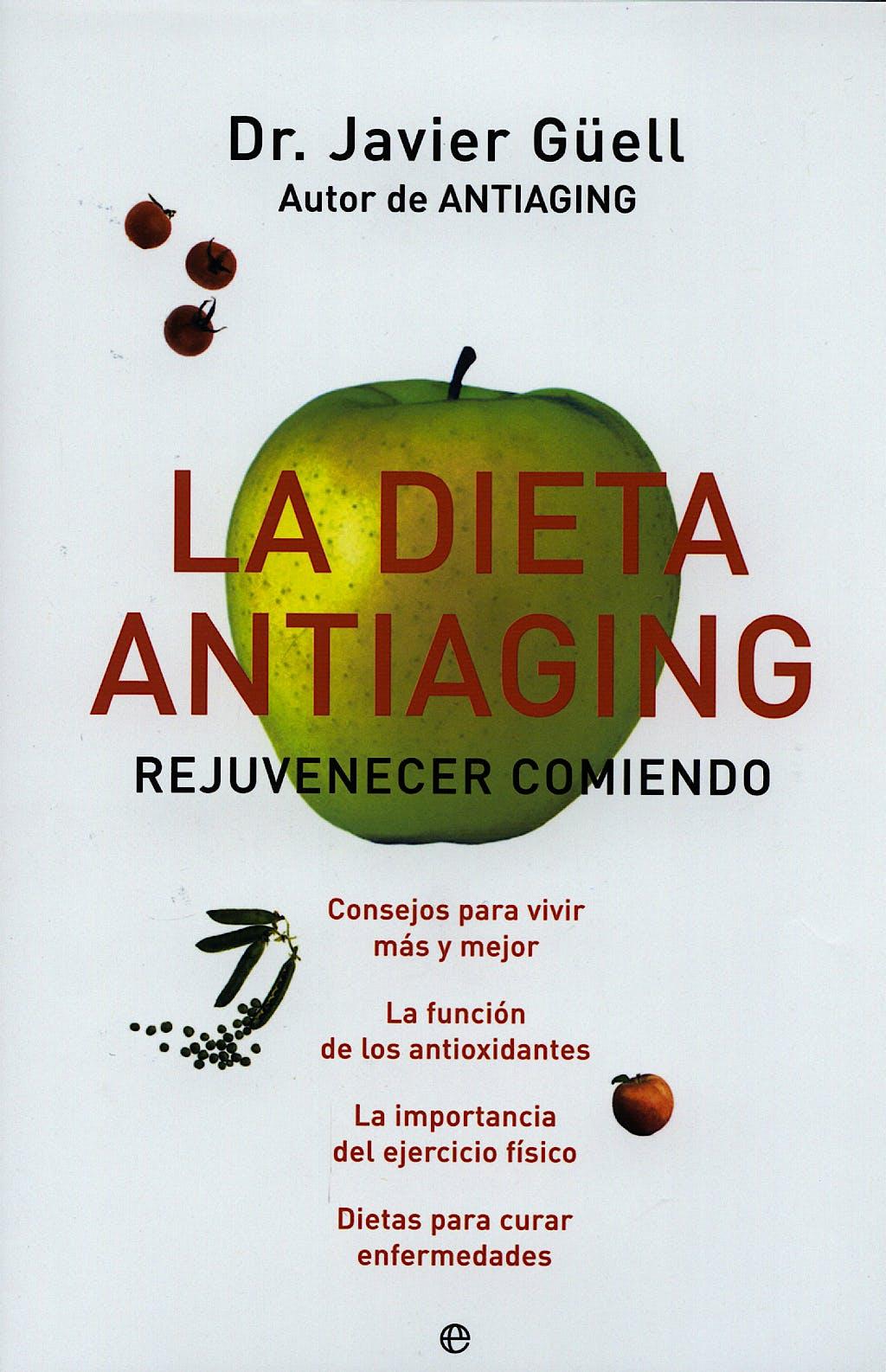 Portada del libro 9788497345422 La Dieta Antiaging