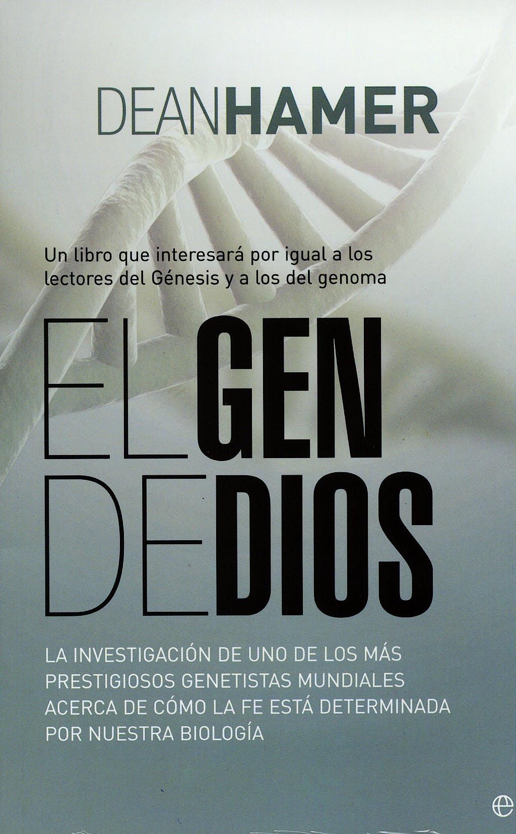 Portada del libro 9788497345552 El Gen de Dios