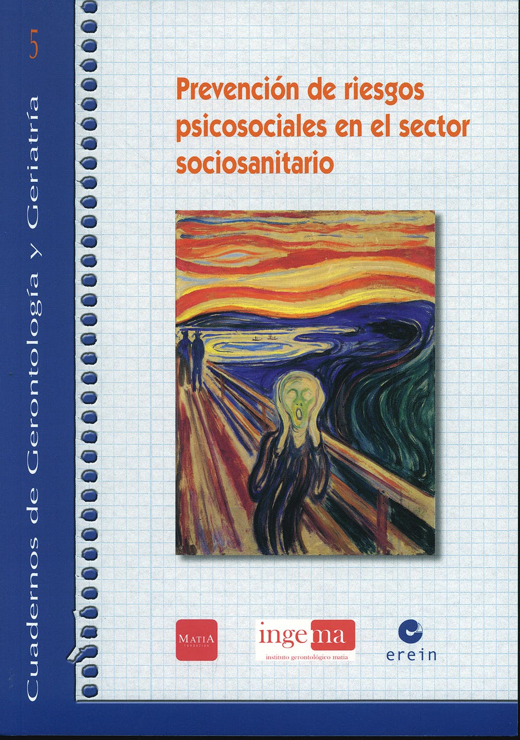 Portada del libro 9788497463867 Prevencion de Riesgos Psicosociales en el Sector Sociosanitario