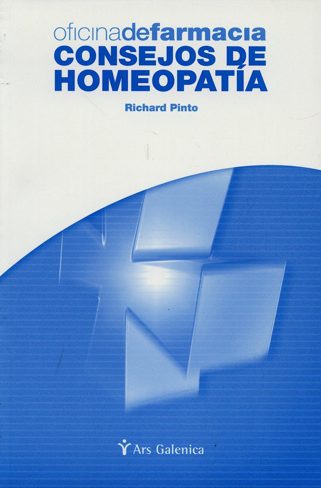 Portada del libro 9788497510035 Oficina de Farmacia. Consejos de Homeopatia