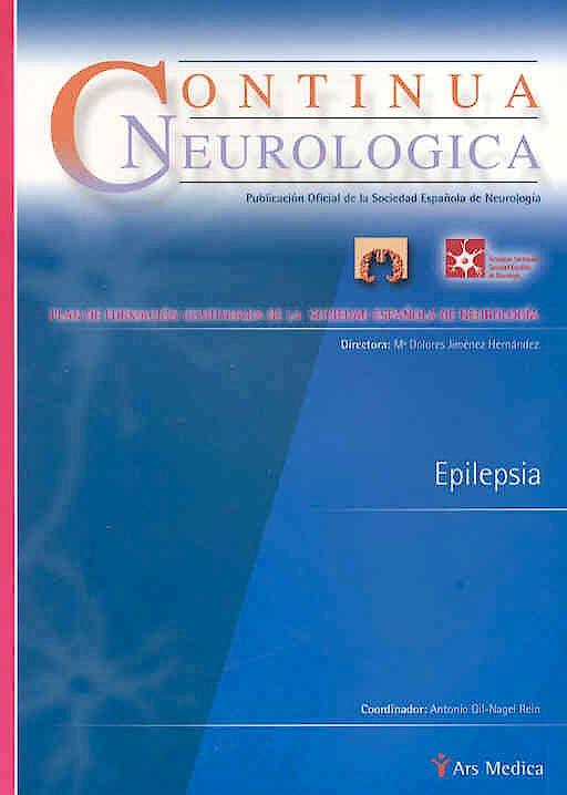 Portada del libro 9788497510356 Epilepsia (Continua Neurologica)