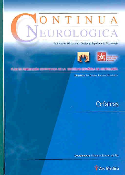 Portada del libro 9788497510592 Cefaleas (Continua Neurologica)