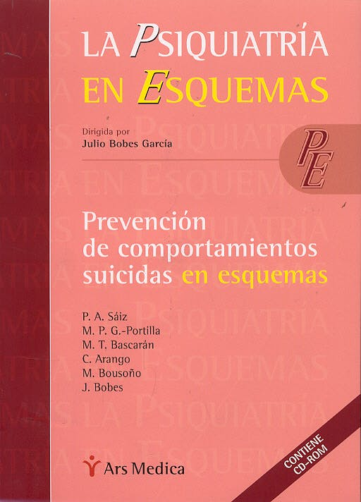 Portada del libro 9788497510998 Prevencion de Comportamientos Suicidas en Esquemas + Cd-Rom (La Psiquiatria en Esquemas)