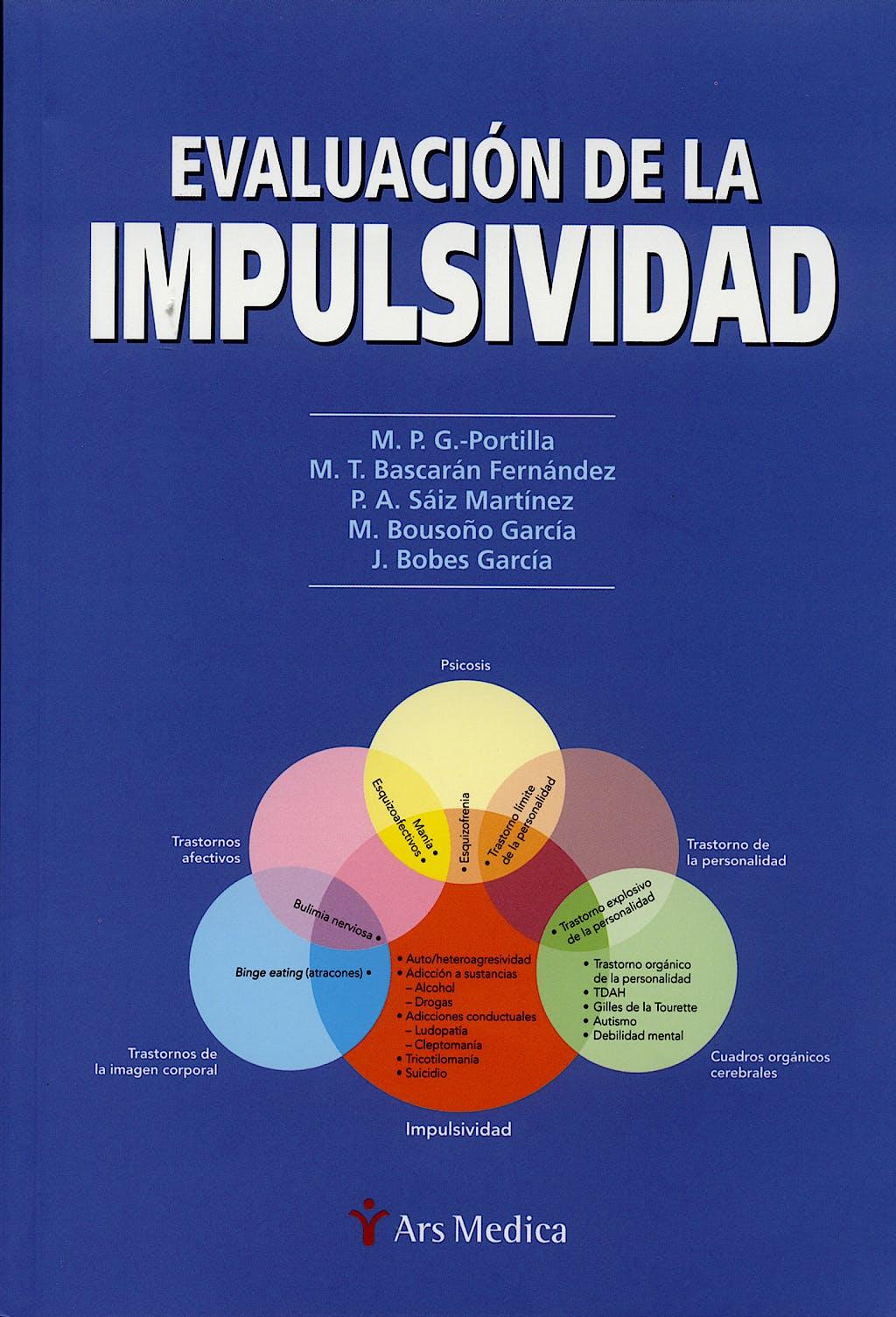 Portada del libro 9788497511186 Evaluacion de la Impulsividad
