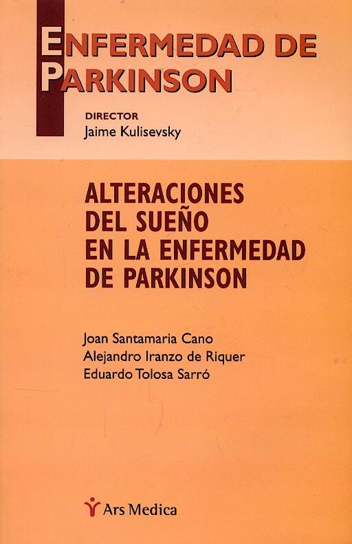 Portada del libro 9788497511483 Enfermedad de Parkinson: Alteraciones del Sueño en la Enfermedad de Parkinson