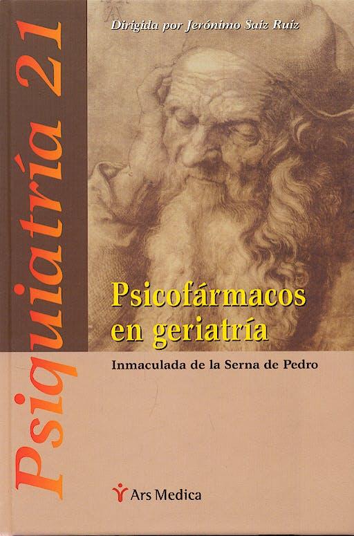 Portada del libro 9788497511506 Psicofarmacos en Geriatria