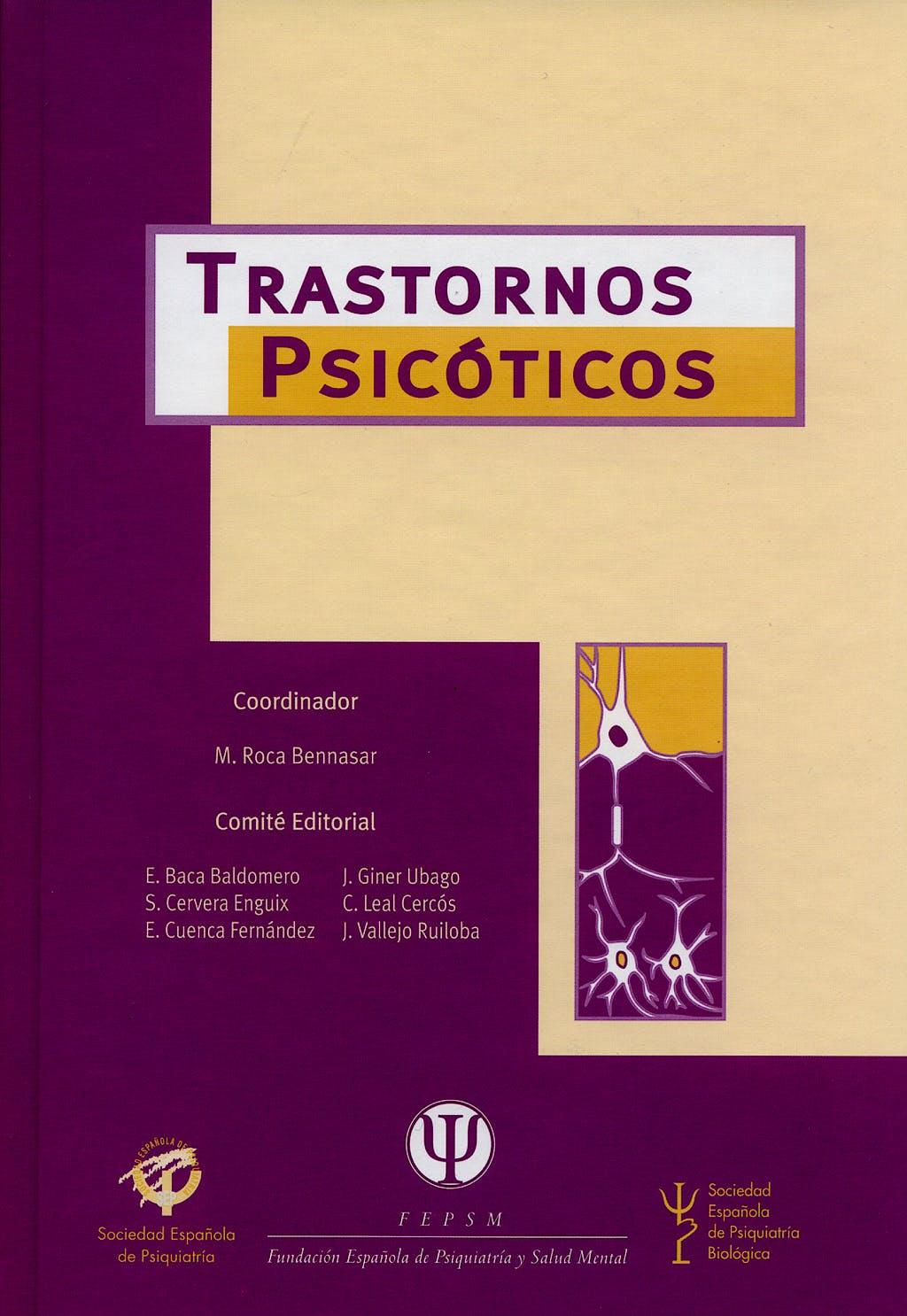 Portada del libro 9788497512237 Trastornos Psicoticos