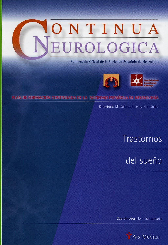 Portada del libro 9788497512374 Trastornos del Sueño (Continua Neurologica)