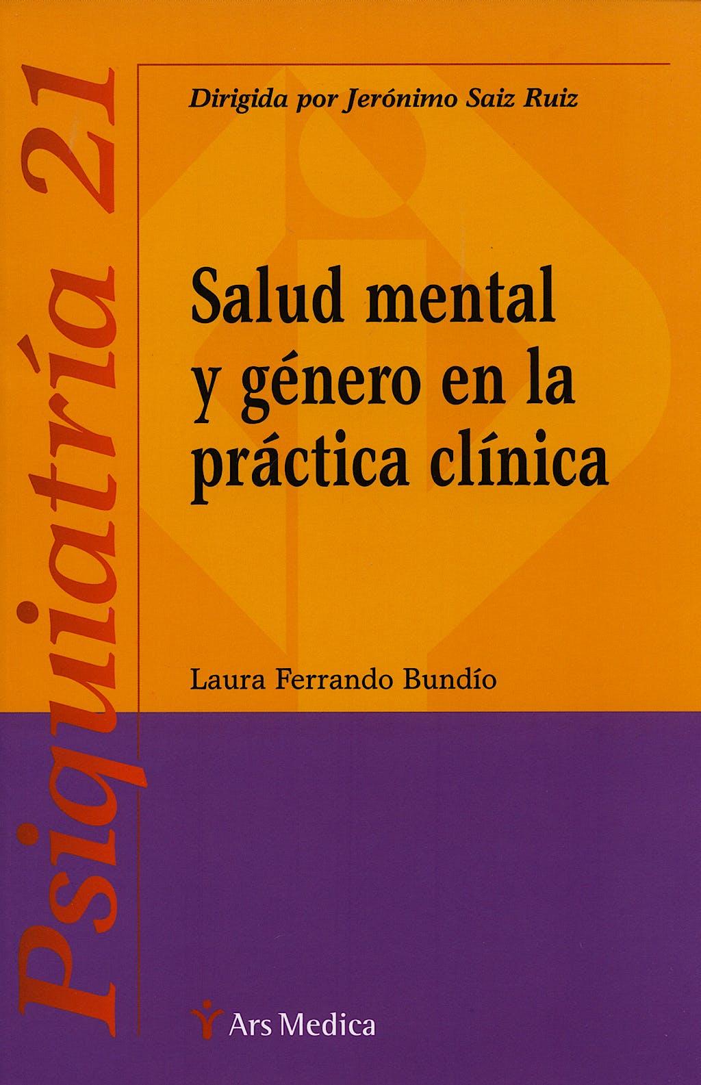 Portada del libro 9788497512503 Salud Mental y Genero en la Practica Clinica