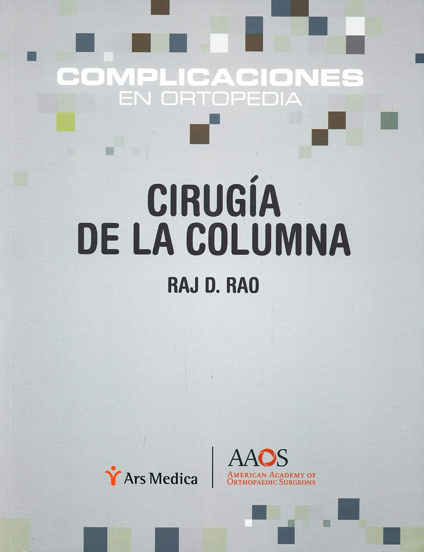 Portada del libro 9788497512558 Cirugia de la Columna. Complicaciones en Ortopedia (Aa0s)