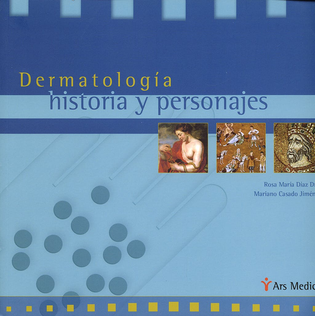 Portada del libro 9788497512718 Dermatología. Historia y Personajes