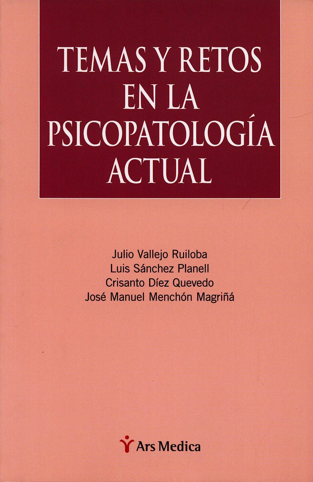 Portada del libro 9788497512763 Temas y Retos en la Psicopatologia Actual