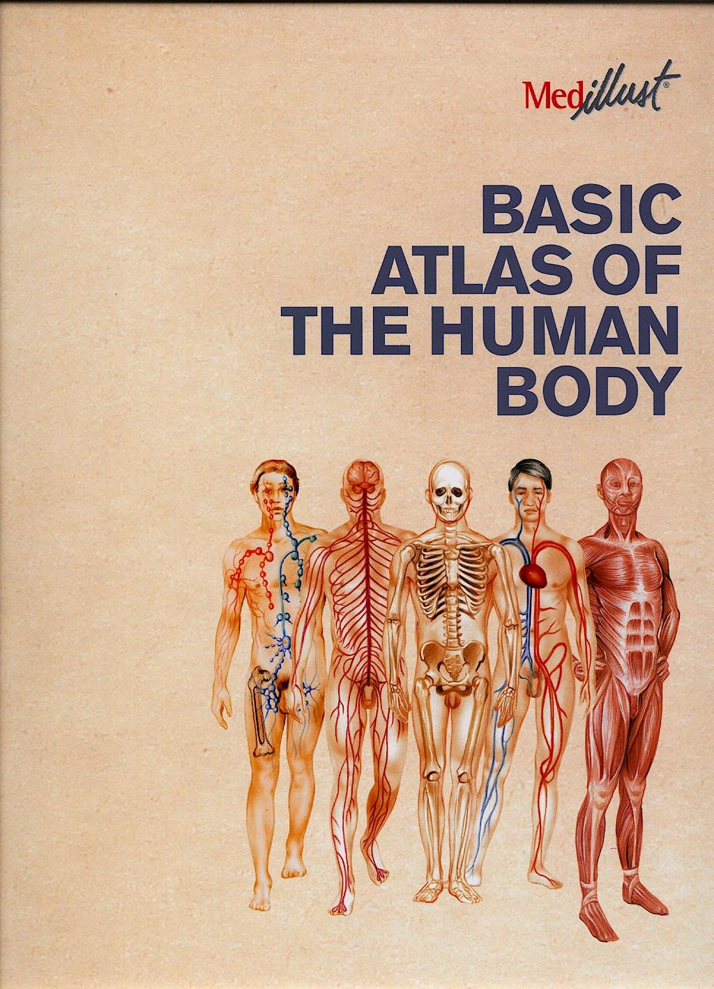Portada del libro 9788497513173 Basic Atlas of the Human Body