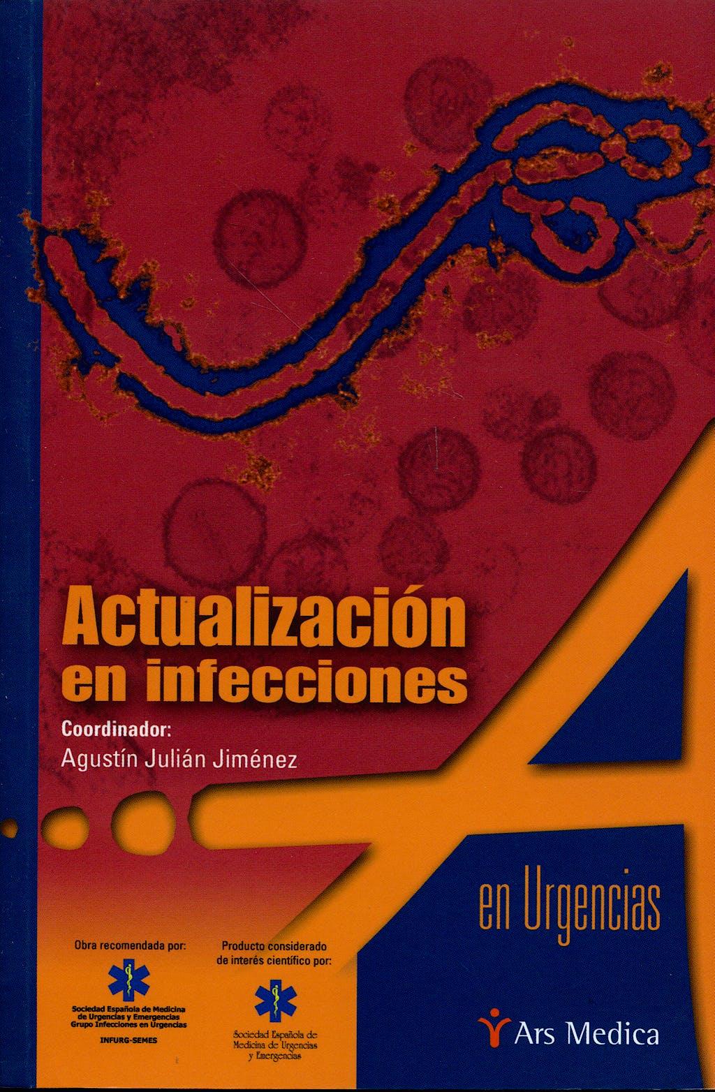 Portada del libro 9788497513227 Actualización en Infecciones en Urgencias