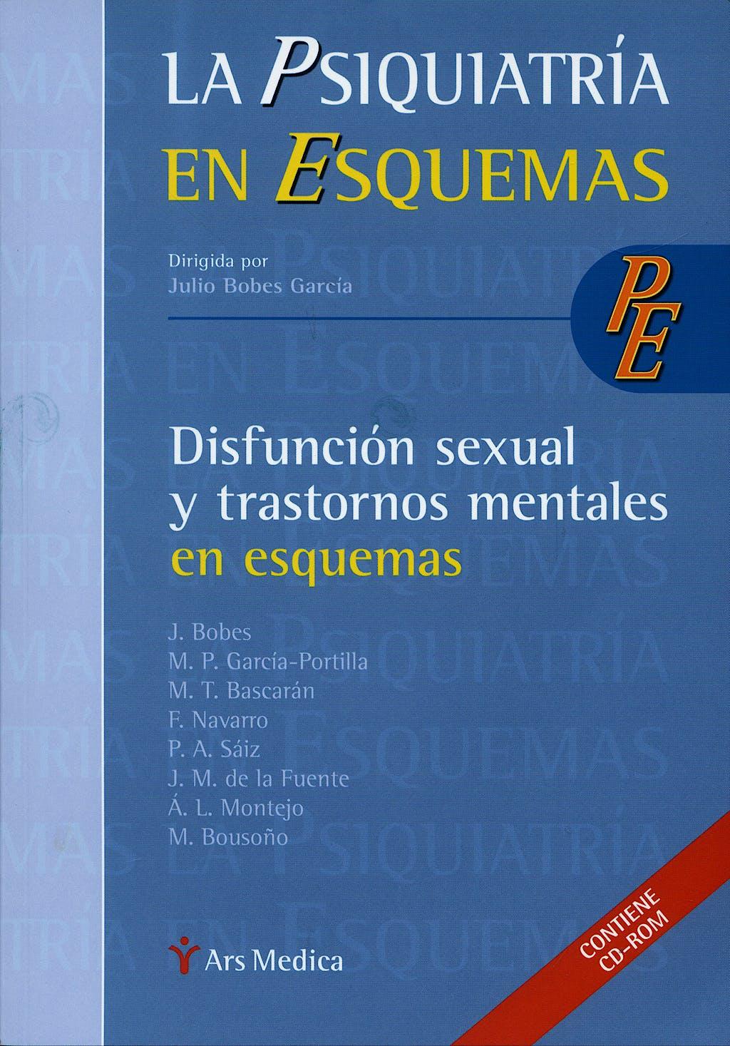 Portada del libro 9788497513593 Disfuncion Sexual y Trastornos Mentales en Esquemas + Cd-Rom (La Psiquiatria en Esquemas)