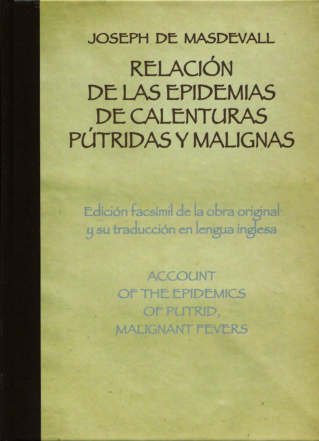 Portada del libro 9788497513708 Relacion de las Epidemias de Calenturas Putridas y Malignas