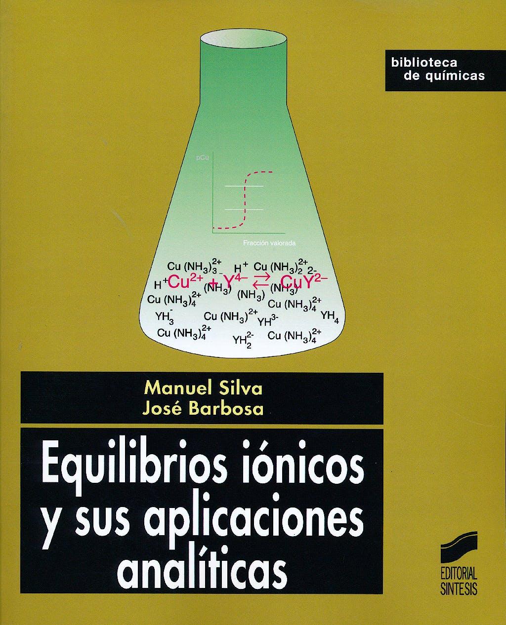 Portada del libro 9788497560252 Equilibrios Ionicos y Sus Aplicaciones Analiticas
