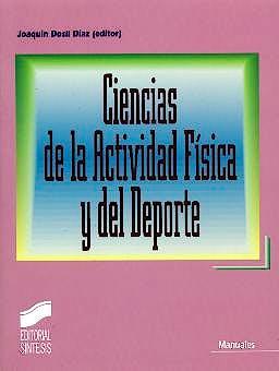 Portada del libro 9788497561402 Ciencias de la Actividad Física y del Deporte