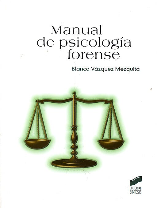 Portada del libro 9788497563260 Manual de Psicología Forense