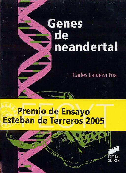 Portada del libro 9788497563383 Genes de Neandertal