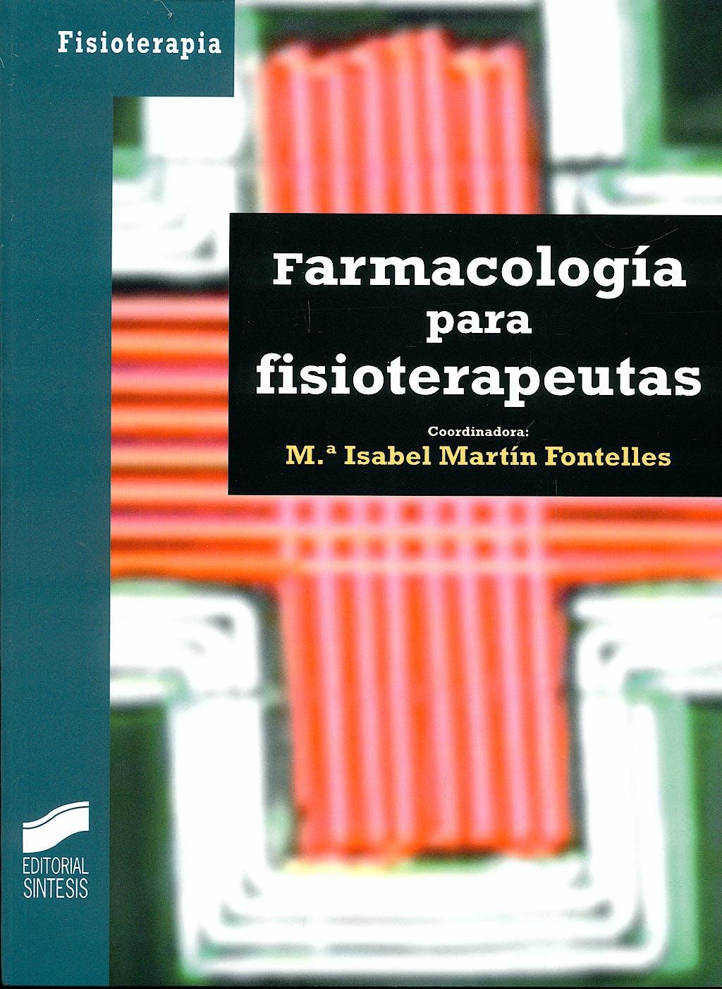 Portada del libro 9788497565929 Farmacologia para Fisioterapeutas