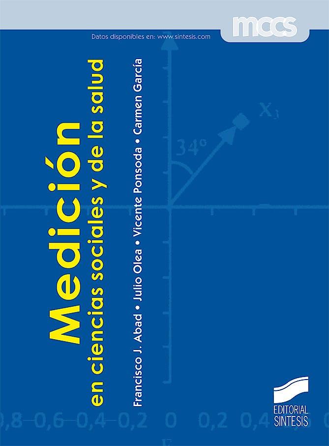 Portada del libro 9788497567275 Medición en Ciencias Sociales y de la Salud