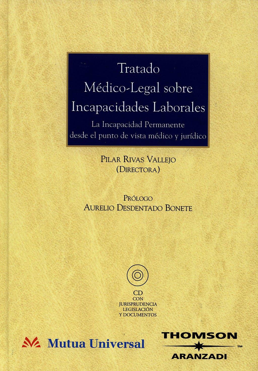 Portada del libro 9788497675635 Tratado Medico-Legal sobre Incapacidades Laborales. la Incapacidad Per