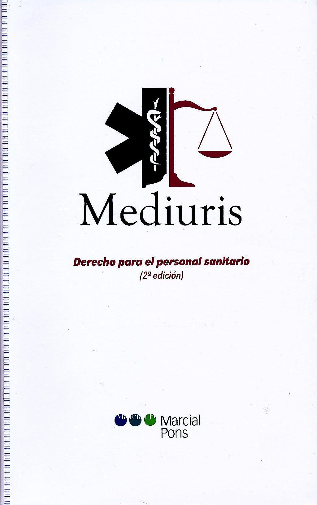 Portada del libro 9788497689038 Mediuris. Derecho para el Profesional Sanitario