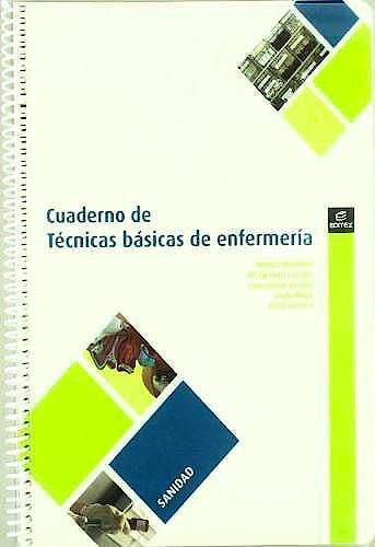 Portada del libro 9788497716512 Cuaderno de Tecnicas Basicas de Enfermeria