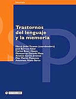 Portada del libro 9788497882200 Trastornos del Lenguaje y la Memoria