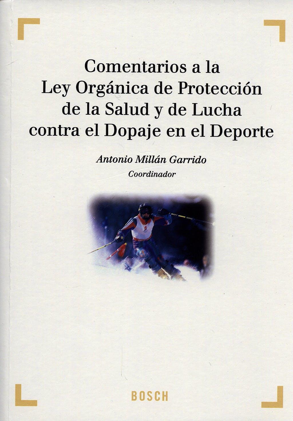 Portada del libro 9788497902984 Comentarios a la Ley Organica de Proteccion de la Salud y de la Lucha