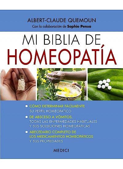 Portada del libro 9788497991667 Mi Biblia de Homeopatía