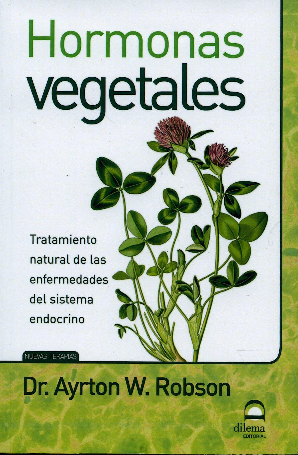 Portada del libro 9788498271829 Hormonas Vegetales