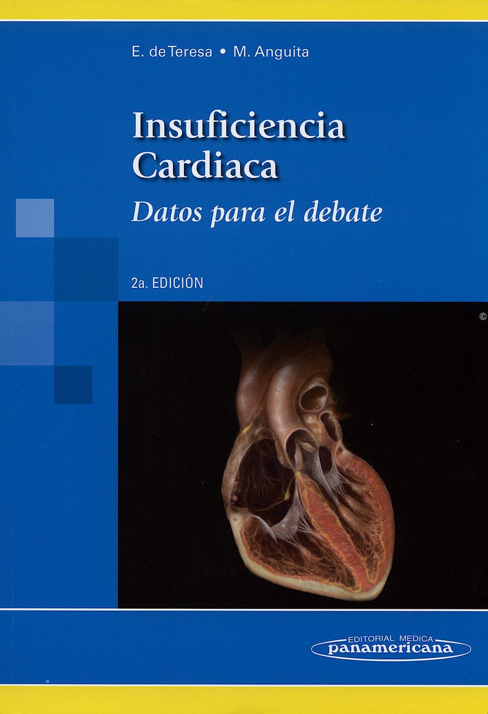 Portada del libro 9788498350173 Insuficiencia Cardiaca. Datos para el Debate