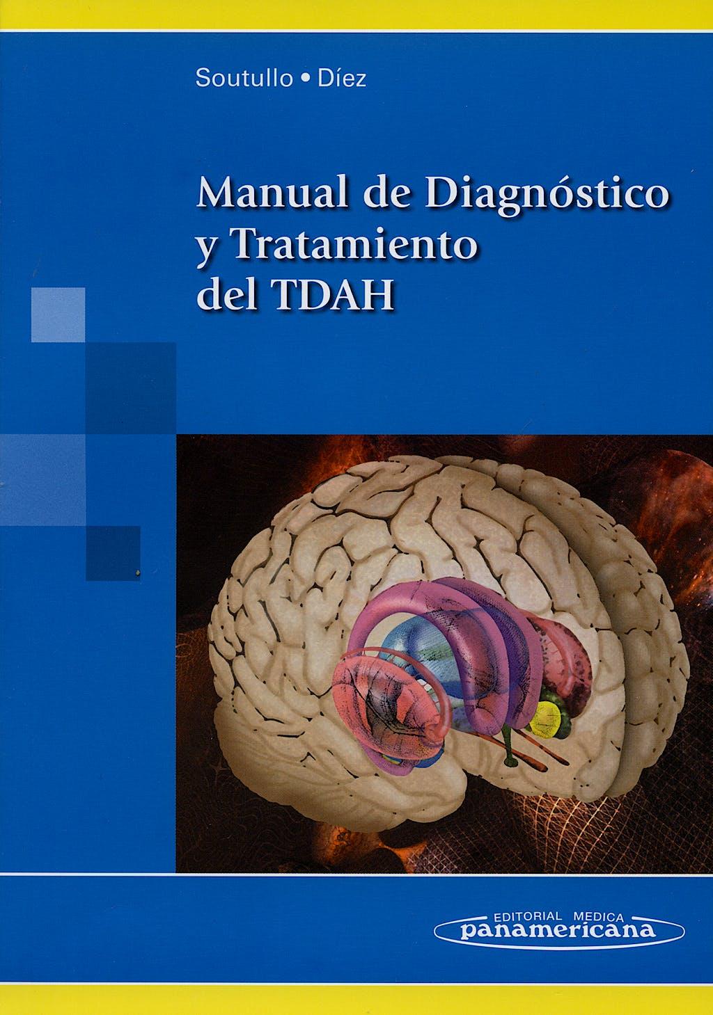 Portada del libro 9788498350463 Manual de Diagnostico y Tratamiento del Tdah
