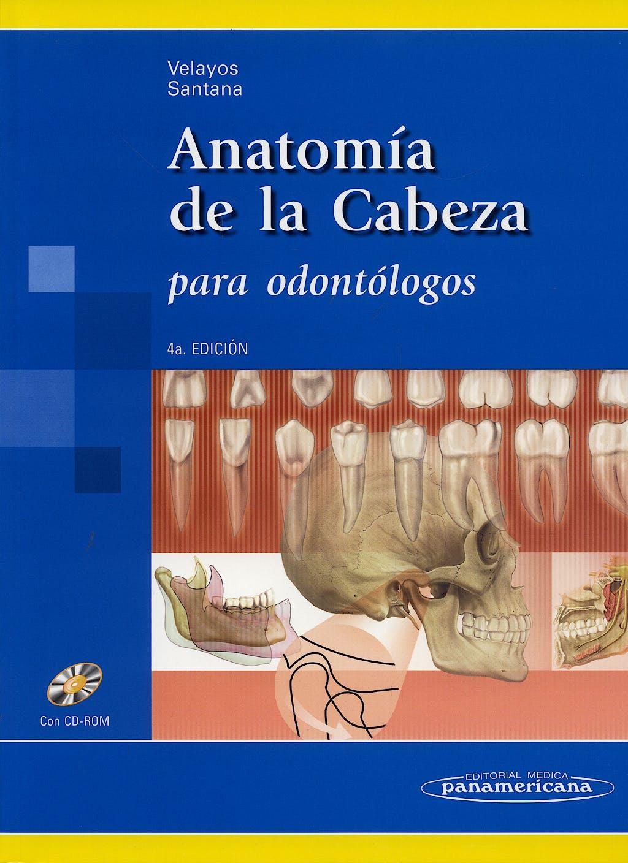Portada del libro 9788498350685 Anatomia de la Cabeza para Odontologos + Cd-Rom