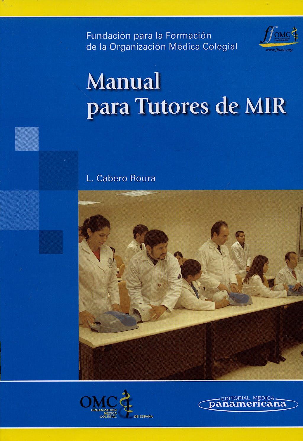 Portada del libro 9788498350869 Manual para Tutores de Mir