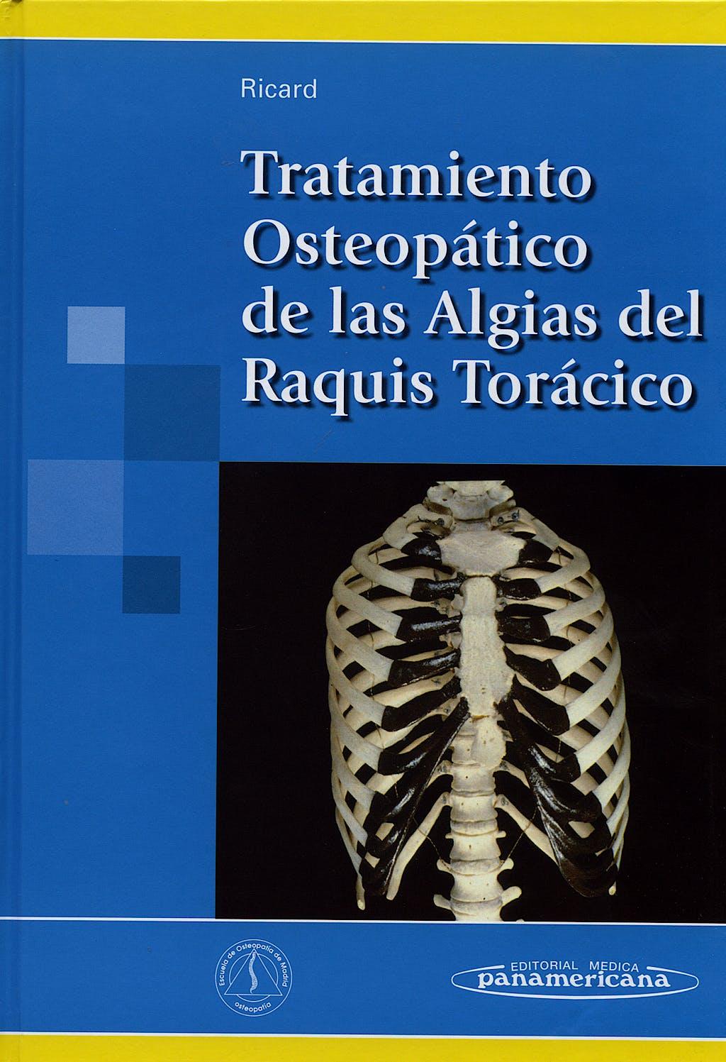 Portada del libro 9788498350883 Tratamiento Osteopático de las Algias del Raquis Torácico