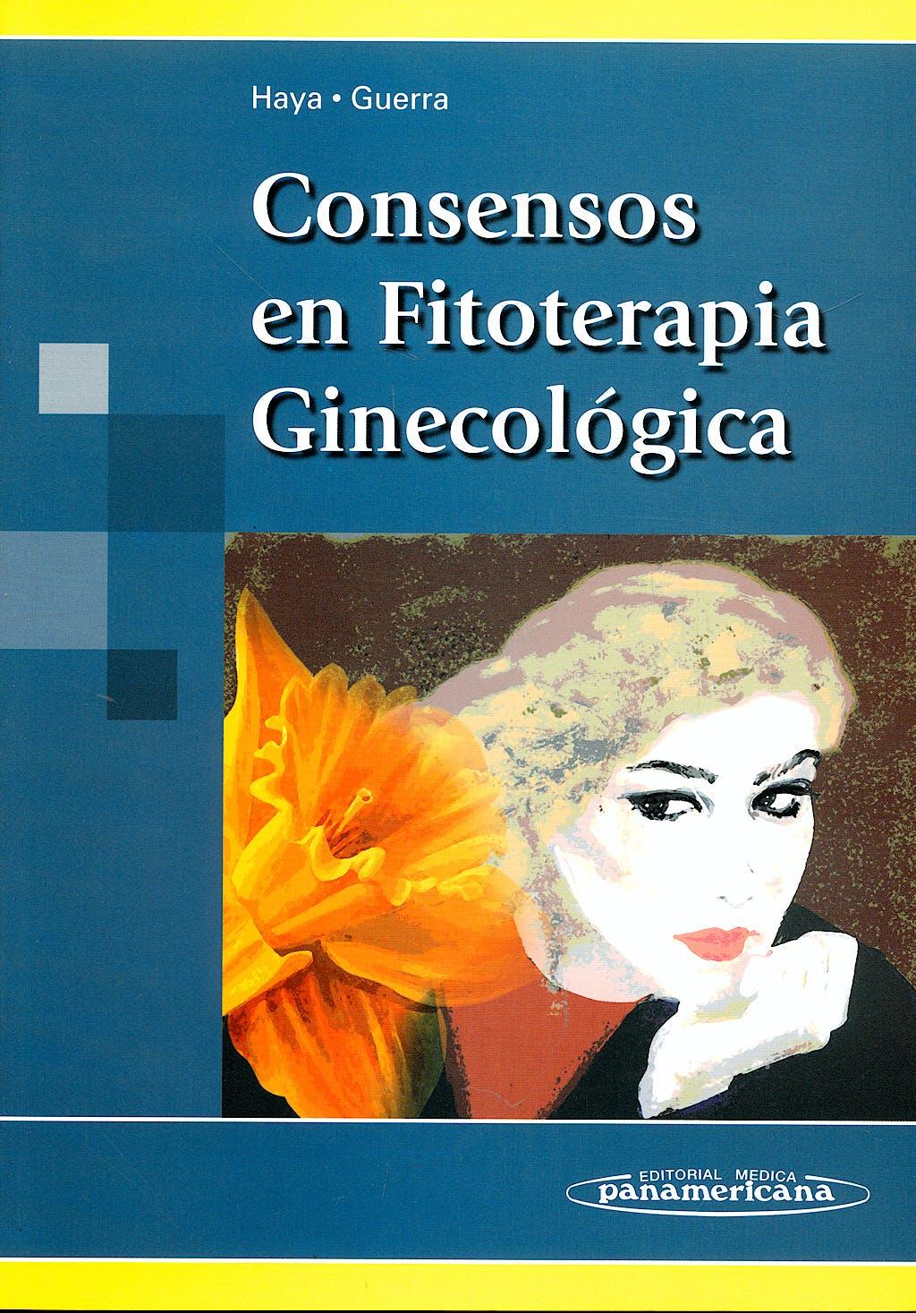 Portada del libro 9788498351040 Consensos en Fitoterapia Ginecologica