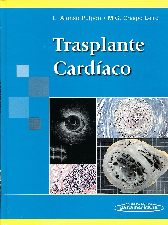 Portada del libro 9788498351071 Trasplante Cardiaco